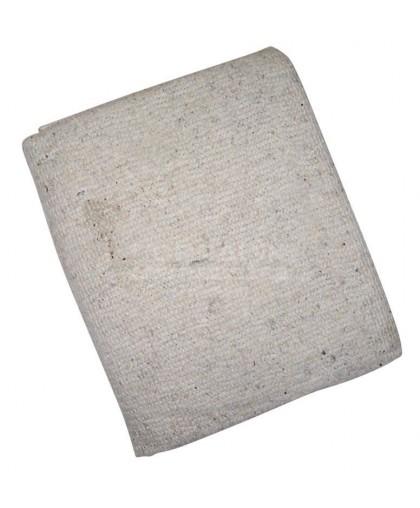 Тряпка для пола оверложенная 80х100 см, цвет серый, плотность 180-200г/м2