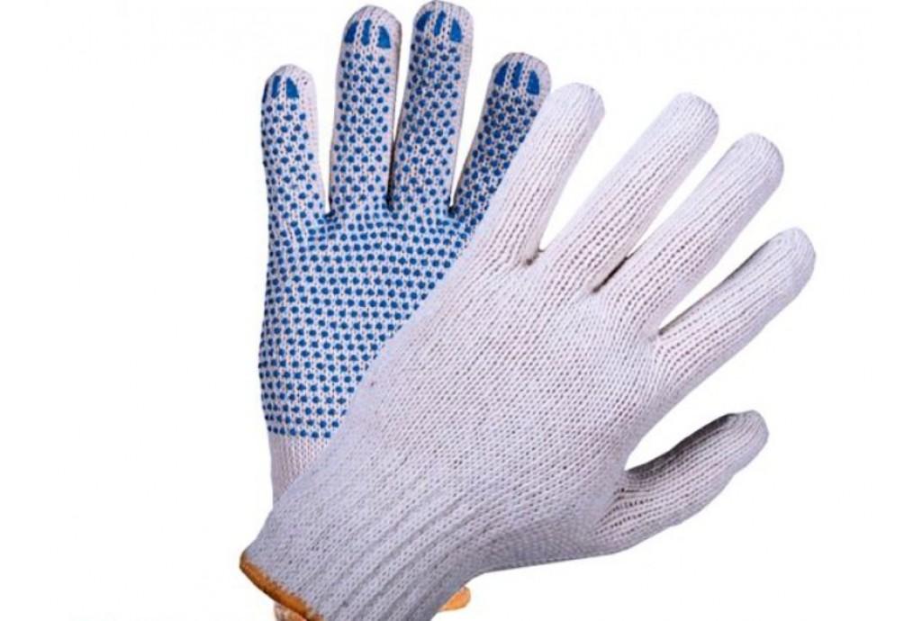 Очень скоро в продаже - рабочие Х/Б перчатки с нанесением ПВХ!