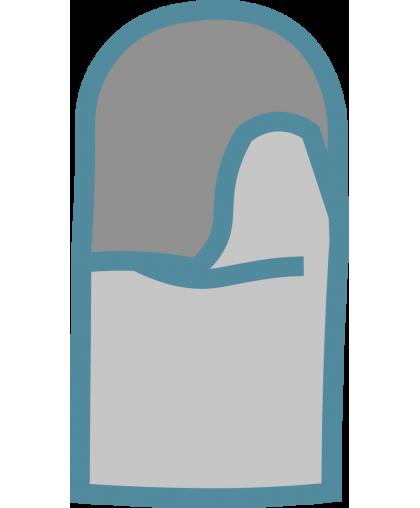 Рукавицы брезентовые ОП1